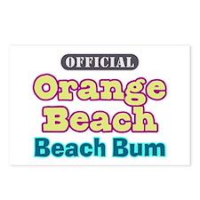 Orange Beach-Beach Bum Postcards (Package of 8)