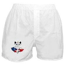 Czech Sexy Kitty Boxer Shorts