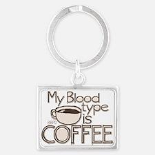 Blood Type Coffee Keychains