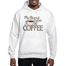 Blood Type Coffee Hoodie