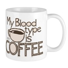 Blood Type Coffee Mug