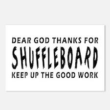 Dear God Thanks For Shuffleboard Postcards (Packag