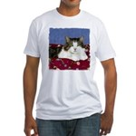 Cat Attitude Fitted T-Shirt