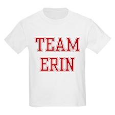 TEAM ERIN  Kids T-Shirt