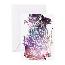 Cosmic Owl Greeting Cards (Pk of 20)