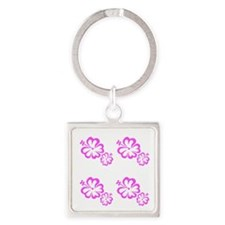 Pink Floral Menagerie Mothers Day Keychains