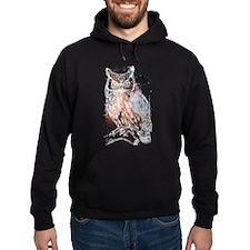 Cosmic Owl Hoodie
