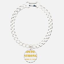 Boston Strong Gold Bracelet