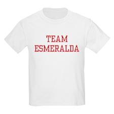TEAM ESMERALDA  Kids T-Shirt