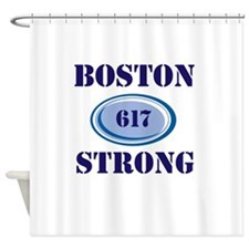 Boston Strong 617 Shower Curtain