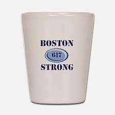 Boston Strong 617 Shot Glass
