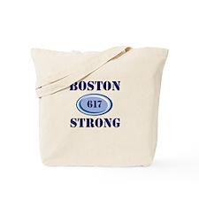 Boston Strong 617 Tote Bag