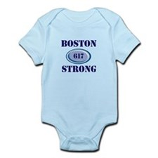 Boston Strong 617 Body Suit