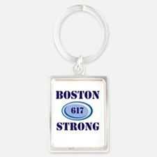 Boston Strong 617 Keychains
