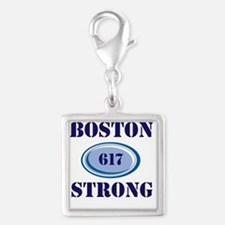 Boston Strong 617 Charms