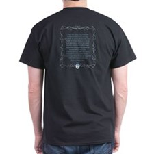 Wire Cross with Miraculous Medal T-Shirt