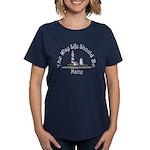 Maine State Motto Women's Dark T-Shirt