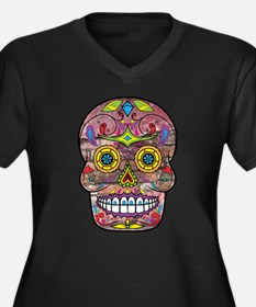 Day of the Dead - Sugar Skull Plus Size T-Shirt