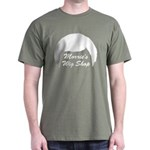 Morrie's Wig Shop Military Green T-Shirt