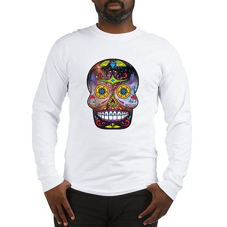 Day of the Dead - Sugar Skull Long Sleeve T-Shirt