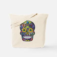 Day of the Dead - Sugar Skull Tote Bag