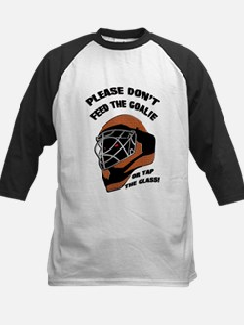 Don't Feed the Goalie Kids Baseball Jersey