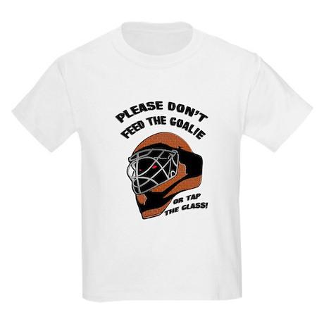 Don't Feed the Goalie Kids T-Shirt