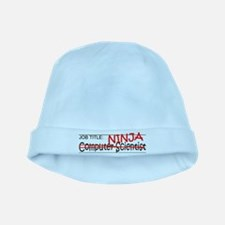 Job Ninja Computer Scientist baby hat