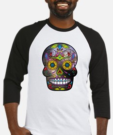 Day of the Dead - Sugar Skull Baseball Jersey