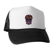 Festival Skull Trucker Hat