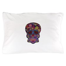 Festival Skull Pillow Case