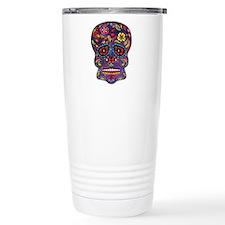Festival Skull Travel Mug