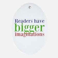 Imaginations Ornament (Oval)