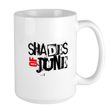 Red/Black Stamp Logo Shirt Mug