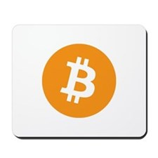 BitCoin - Orange Mousepad