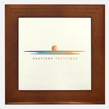 Nautikos Pacifique Framed Tile
