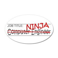Job Ninja Computer Engineer Wall Decal