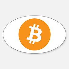 BitCoin - Orange Decal