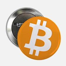 "BitCoin - Orange 2.25"" Button (10 pack)"