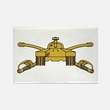 Armor Branch Insignia Rectangle Magnet