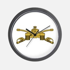 Armor Branch Insignia Wall Clock