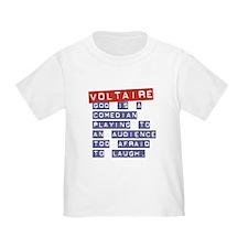 Voltaire's God:  T
