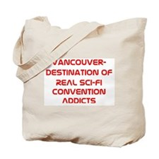 Real Convention Addicts Tote Bag