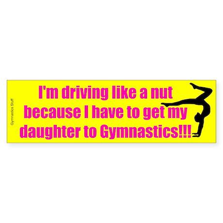 Gymnastics Mom Bumper Sticker