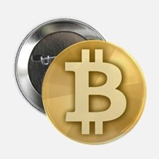 """BitCoin Gold 2.25"""" Button (10 pack)"""