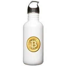 BitCoin Gold Water Bottle