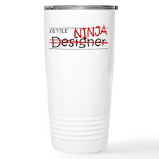 Job Ninja Designer Travel Mug