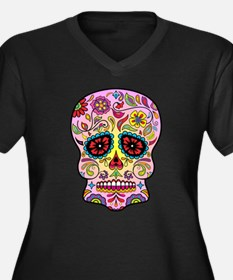 Sugar Skull Plus Size T-Shirt
