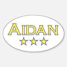 Aidan Oval Decal