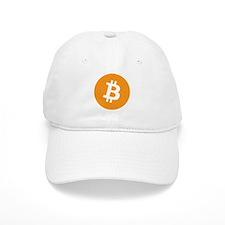 BitCoin - Orange Baseball Baseball Cap